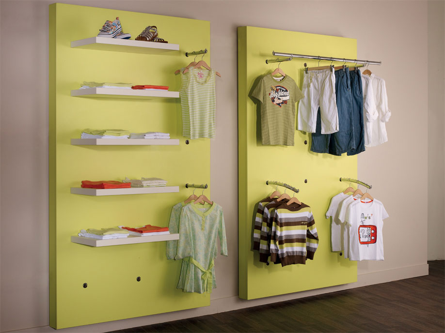 Socket display system for Shopfitting