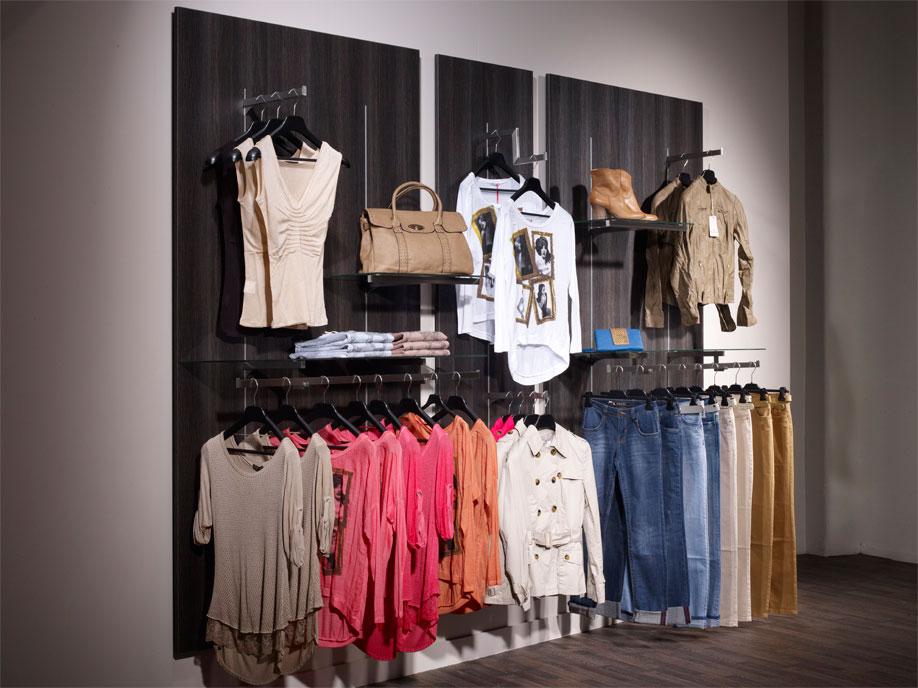 aluminium slot channel shops fashion clothing. Black Bedroom Furniture Sets. Home Design Ideas