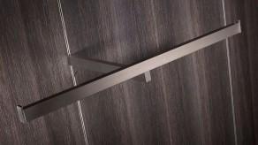 T-shaped clothes rail set