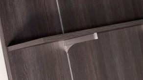 Bracket for wood shelf