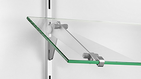 Adjustable shelf bracket