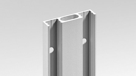 Profile CR0R: adjustable recessed joint