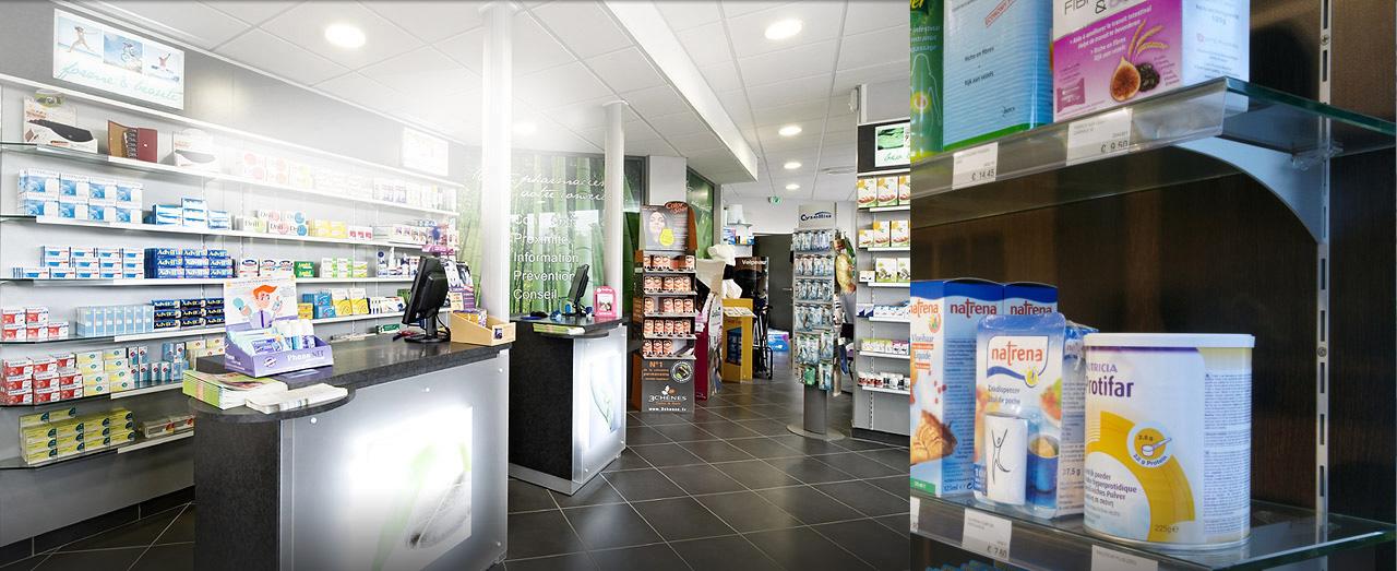 Pharmacie, parfumerie