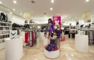 agencement magasin de prêt à porter et lingerie Cupidon