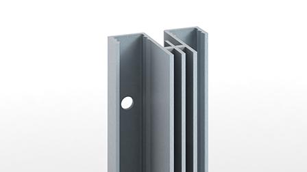 Crémaillère 611202 : double perforation