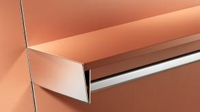 Brackets for clothes rail / wood shelf combination