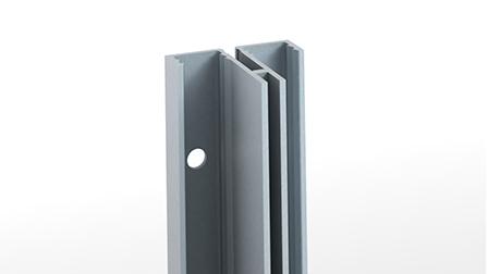 Crémaillère 611201 :  simple perforation