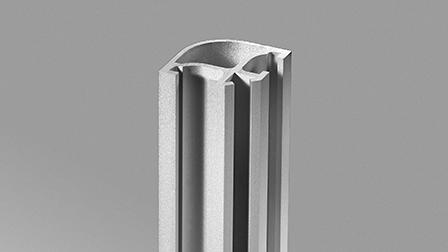Angle rond 26 x 26 mm