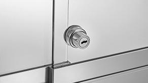 Glass sliding door lock