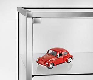 Concept cube vitrine agencement boutique cadeau parfumerie